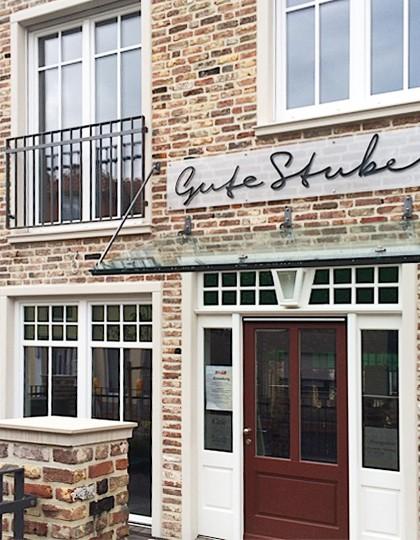 Der Eingang der Guten Stube an der Bremer Straße